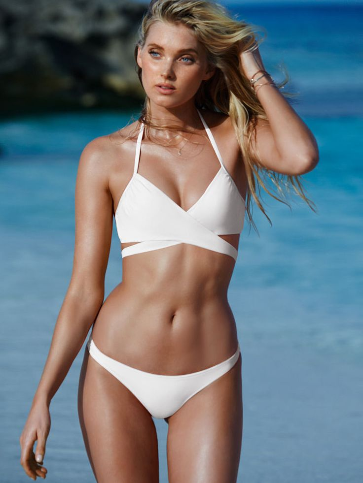 The Wrap Halter - Victoria's Secret Swim - Victoria's Secret Perfect Swimsuits | Bathing suits for women | SHOP @ ExpressSwimsuits.com