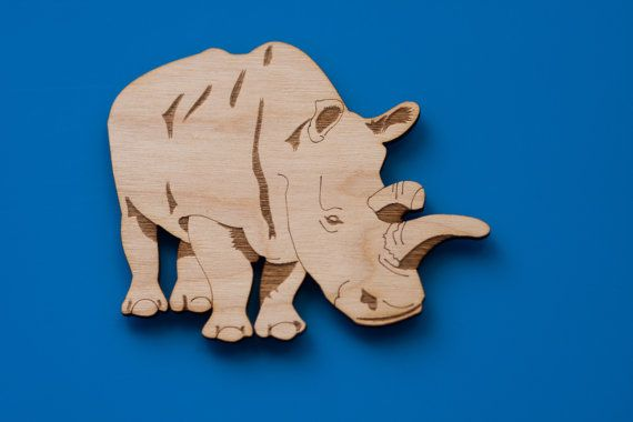 Our magnet based on a real Northern White rhinoceros named Nola. She lived at our local San Diego Zoo Safari Park and was one of only 4 northern white rhinos in the entire world when she died Nov. 22, 2015. She is a national symbol and reminder in the rally to stop poaching. You can find more information at http://www.endextinction.org/rally4rhinos