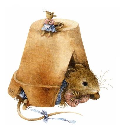 Art of Marjolein Bastin ~ Vera Mouse