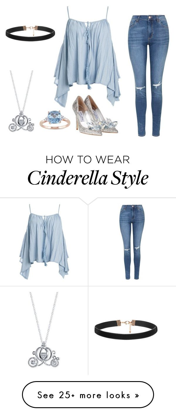 """Cinderella"" by clothesfordays on Polyvore featuring Sans Souci, Topshop, Disney, Miadora, women's clothing, women, female, woman, misses and juniors"