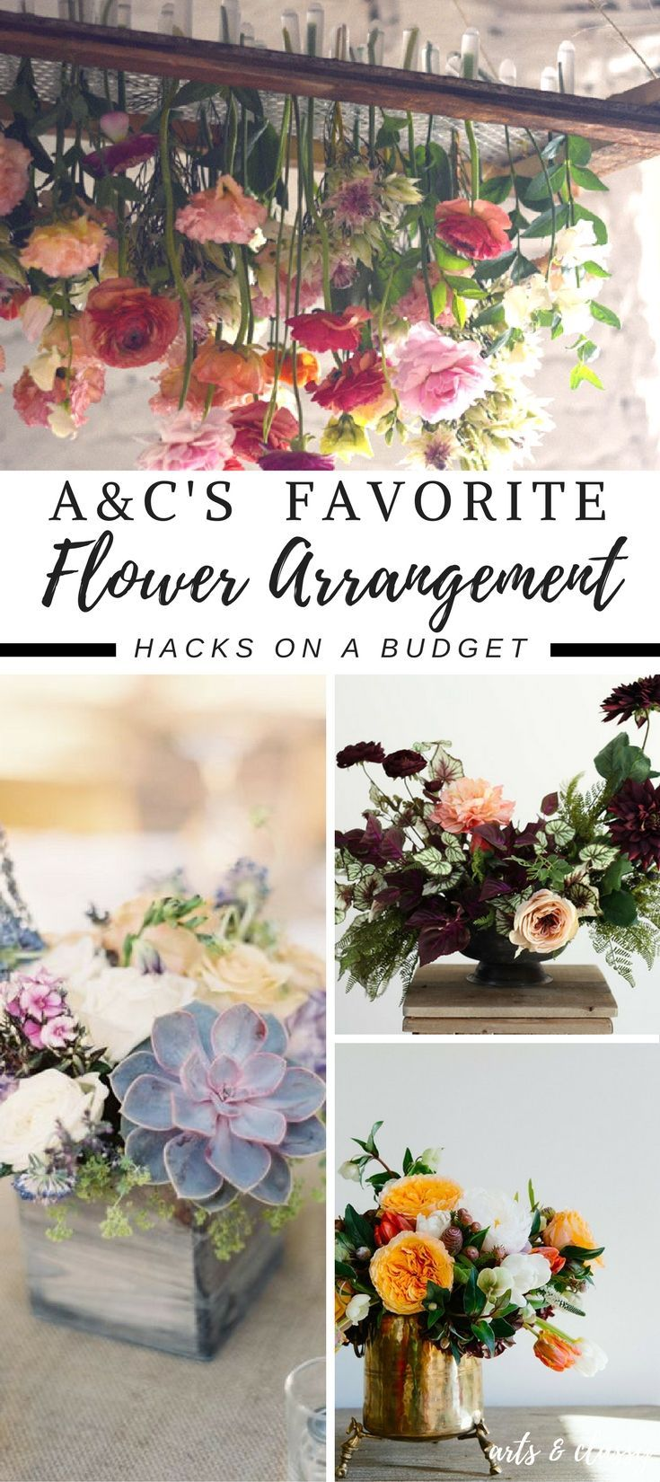Flower arrangements used to intimidate me. I was that girl that bought flowers from the grocery store and just stuck them in a tall vase with water. I have never had a green thumb so flowers and herbs usually die shortly after entering my home or garden. However, I have...