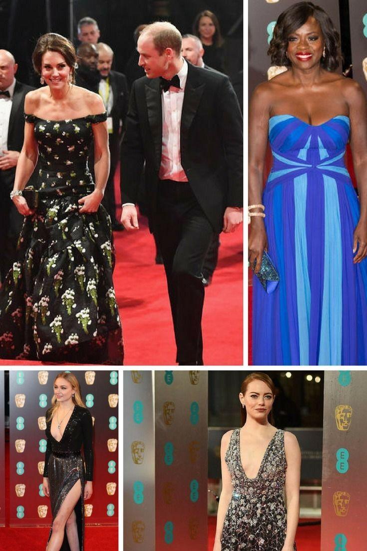 BAFTA 2017 : d'Emma Stone à Kate Middleton, les plus beaux looks du tapis rouge