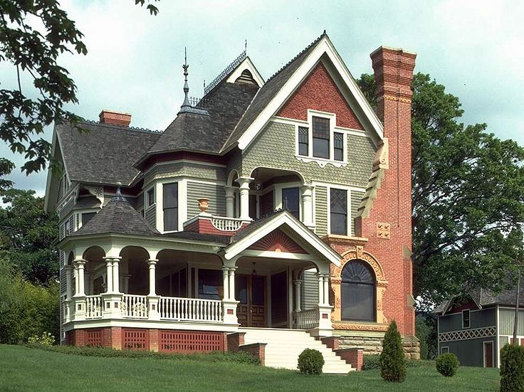 23 best follow the yellow brick road images on pinterest for Victorian kit homes