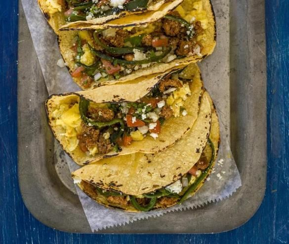 With the annual South by Southwest film and music festival underway in Austin, Texas, my thoughts turn most, I must admit, to the breakfast tacos so popular there.