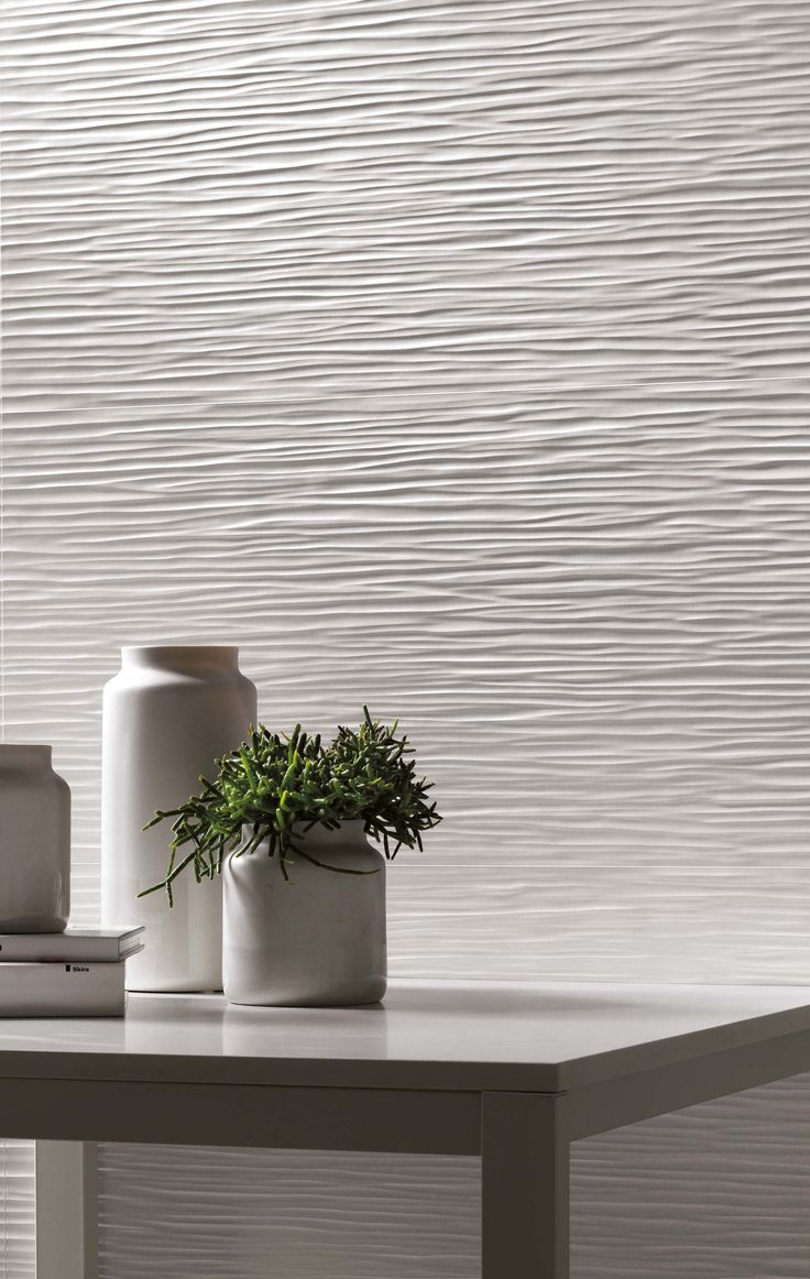 Image On D Wave Wall Design by atlasconcorde Three dimensional Ceramic Wall Tiles