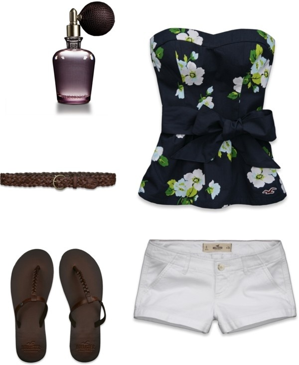 ~Hollister Co. Outfit~, created by beachchickk101 on Polyvore