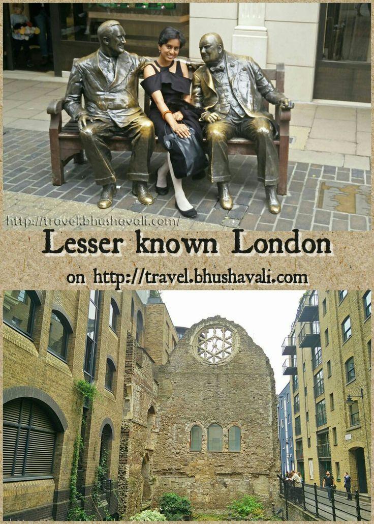 5 very very interesting, but almost unknown spots in London... #travelblog #photoblog #travelblogger #ttop #VisitLondon #VisitEngland #LoveGreatBritain #WinstonChurchill #TheodoreRoosevelt #Thames #LondonBridge