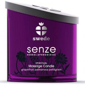 Svenske Swede - herlige dufter og nydelig olje fra deres Senze Massasjelysserie. http://www.esensual.no/senze-massage-candle/
