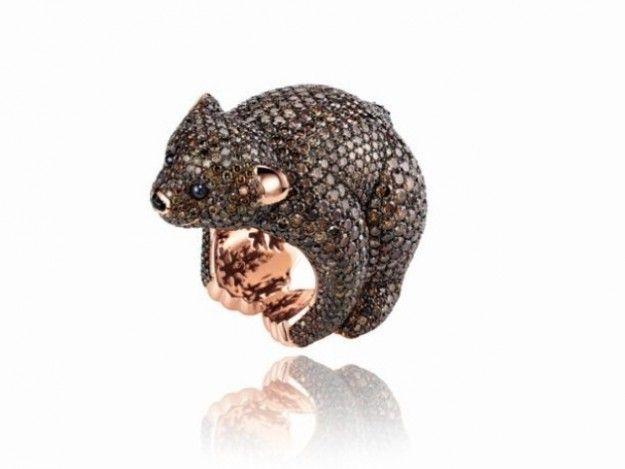 Gioielli Chopard: anelli e orologi con animali
