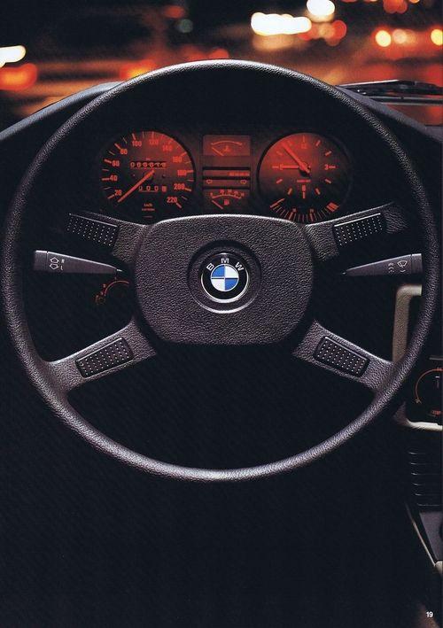 Old BMW panel