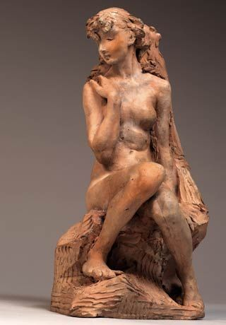 Camille Claudel, Young Girl with a Sheaf, before 1887, [S.6738]