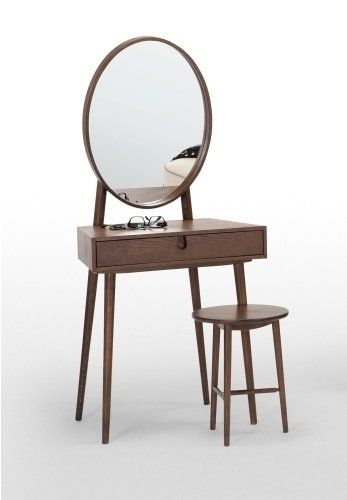 The Penn Dressing Table in Dark Stain Ash. Elegant, subtle and sophisticated. £259 | MADE.COM