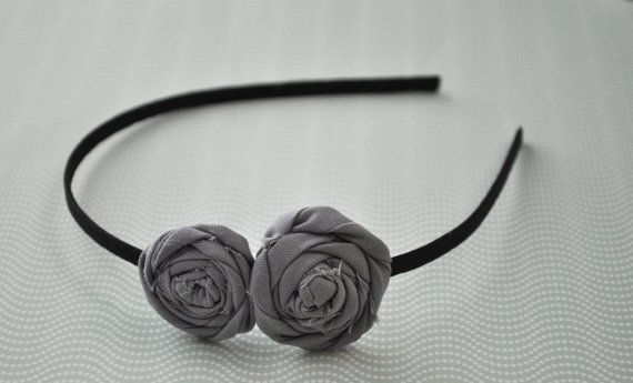 Rosette headband - make for Shan