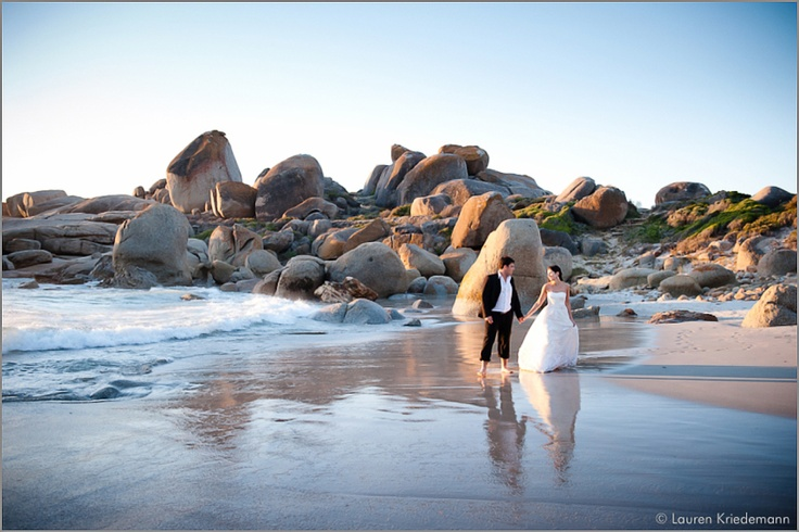 Cape Town Beach Wedding. Stunning beach settings to choose from. The best photos are shot in the afternoon as the light is perfect!