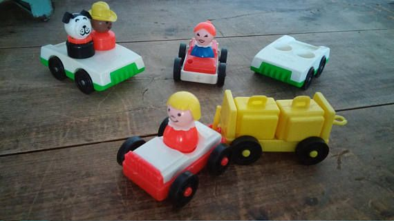 Fisher price toys Fisher price little people set circa