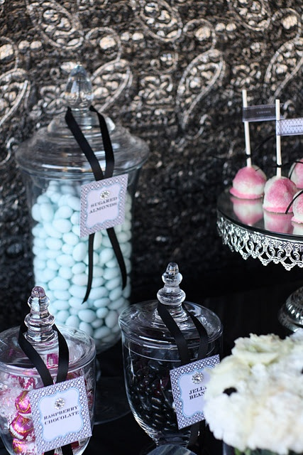 New Years eve decor - #candy buffet bar