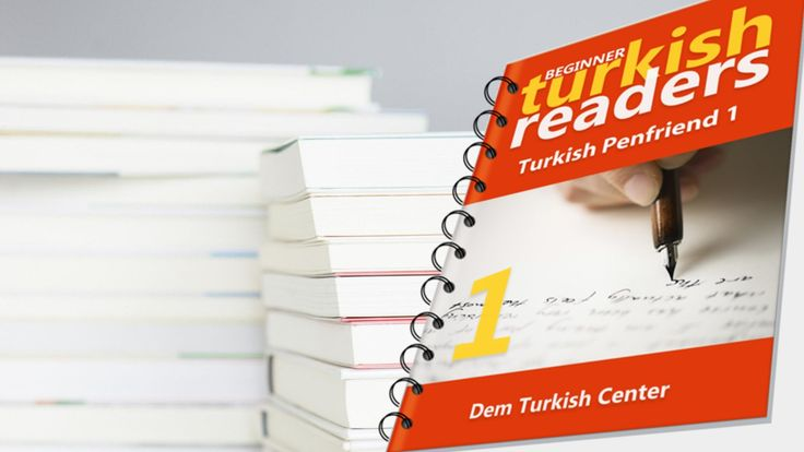 Download Turkish Penfriend 1, a Turkish easy reading book with exercises for beginner Turkish language learners and improve your Turkish reading skill and learn new Turkish words and phrases while reading!