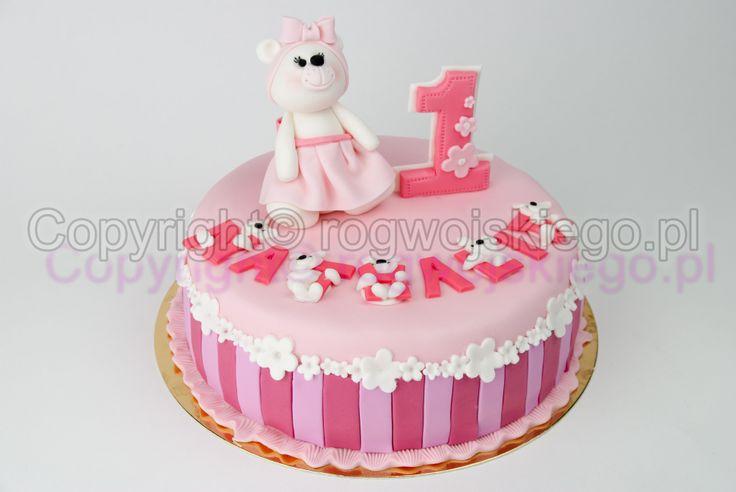 tort na roczek, torcik na pierwsze urodzinki, piękne torty, tort, gdańsk, trójmiasto, 1st birthday cake,