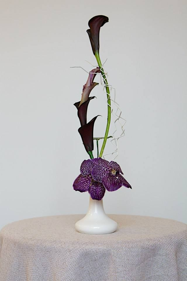 Flower design school of Rita Garaissils (Riga), student work (Kiev)
