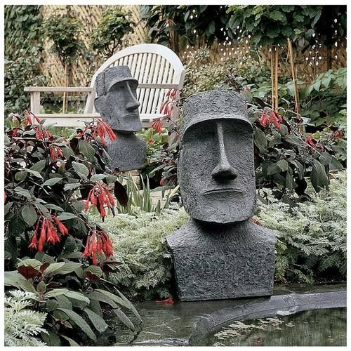 Want to buy Easter Island Moai Head? Here you will find garden statues replica products, contemporary garden sculptures, statuary, lawn ornaments, and fountains for sale.