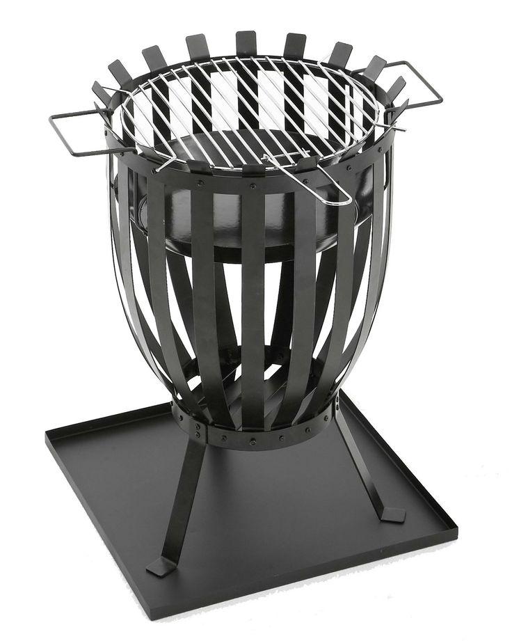 Grillin ja ulkotulen yhdistelmä - Combination of grill and outdoor flame