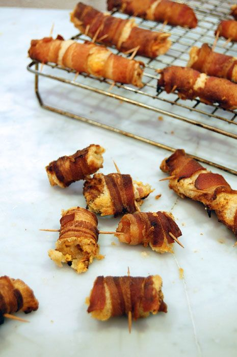 Bacon Wraps (it's a savory version of the Crack Sticks!)