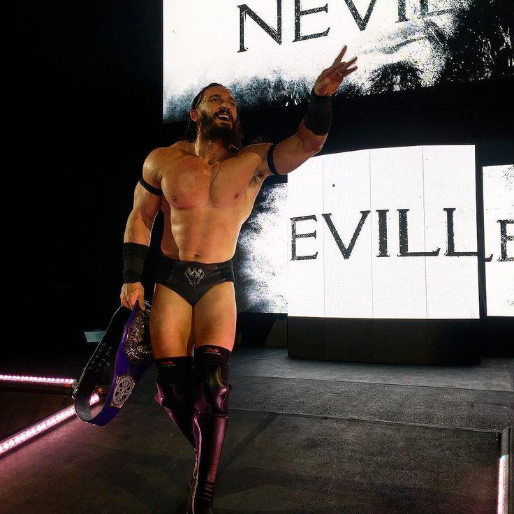 #Neville enjoyed spoiling the fun at #WWEGreensboro.