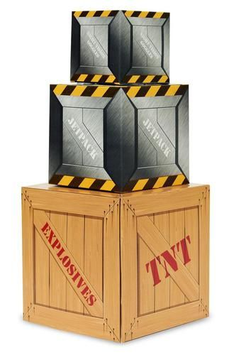 Accent your party table with this Secret Agent Centerpiece! Includes 3 stackable boxes to create one centerpiece. Some assembly required.Includes: (3) themed stackable boxes to create your centerpiece