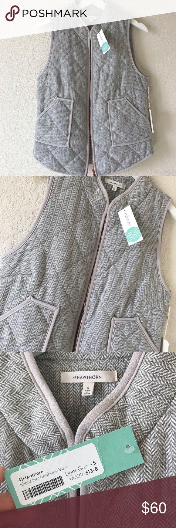 Stitch Fix 41Hawthorn Shara Herringbone Vest Brand new with tags. Stitch Fix Jackets & Coats Vests