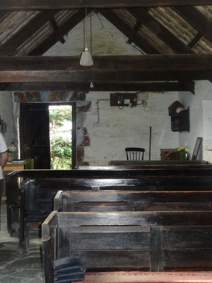 ST PIRAN'S CHAPEL: Trethevy, Tintagel, Cornwall.
