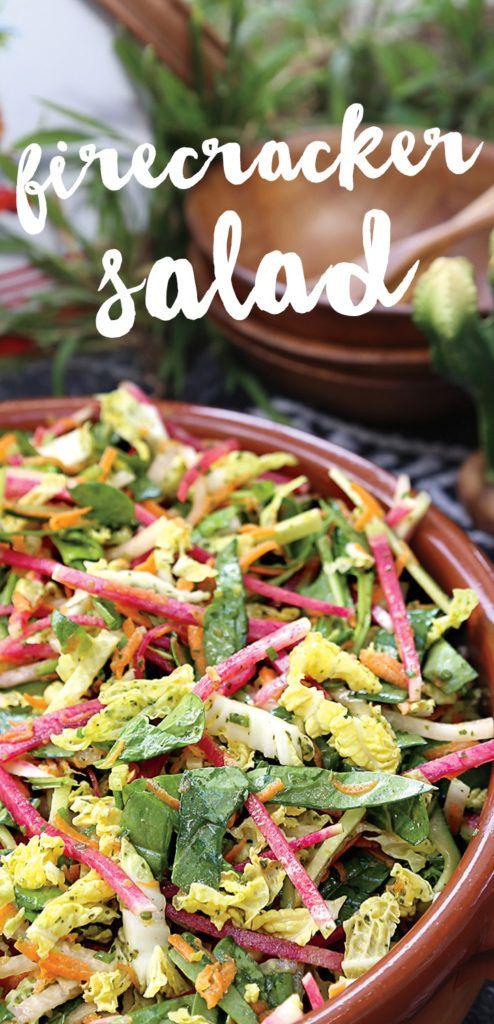 Recipe: Firecracker Salad by Thug Kitchen