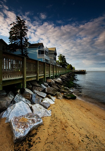 Chesapeake Beach, Maryland by Rana Sunoko, via Flickr