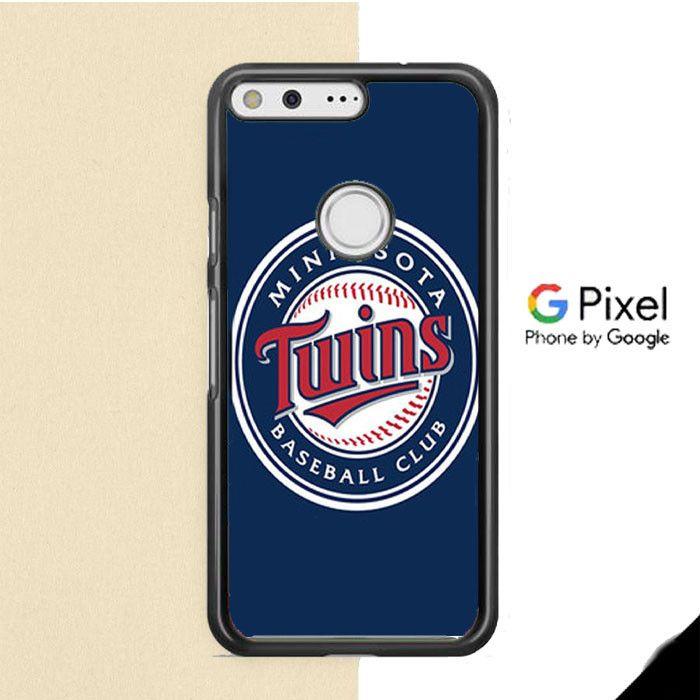 Minnesota Twins Baseball Logo Blue Google Pixel Case