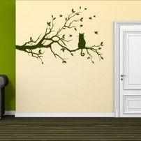 Naklejka ścienna Gałąź g15 CENA 25,9 PLN #naklejka_ścienna #naklejki #dekoracje_ścienne #naklejki_ścienne #sticker #wall_decal #wall_art