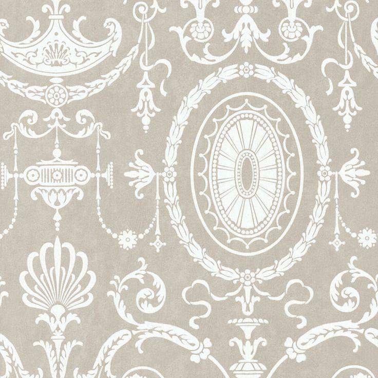 Little Greene Pall Mall Wallpaper in Scholar - http://godecorating.co.uk/little-greene-pall-mall-wallpaper-scholar/