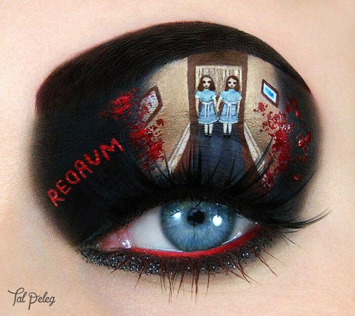 Makeup artist trasforma le sue palpebre in dipinti ispirati a film e libri - ARTE E CULTURA