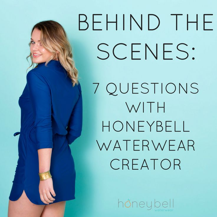 Your most popular questions answered by Annaliese Allen, creator of Honeybell Waterwear.