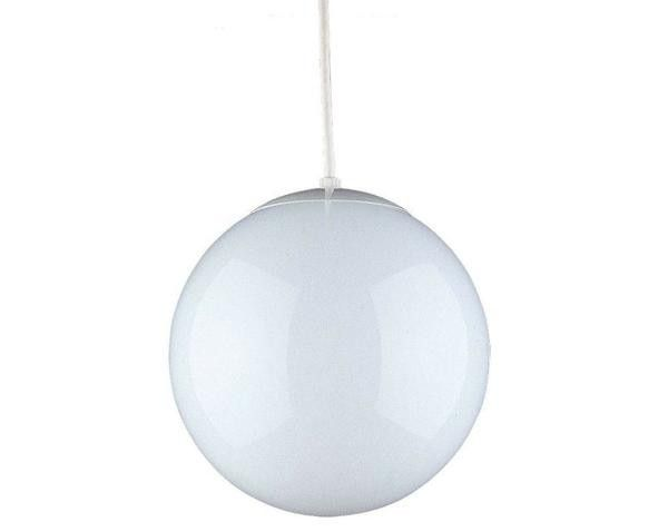 hanging globe pendant in an industrial greenhouse kitchen on gardenista. At Home Depot -- $68!!