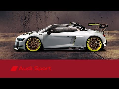 At The Goodwood Festival Of Speed Audi Sport Has Revealed The Audi R8 Lms Gt2 A 640 Hp Racecar That Will Compete Form 2020 In The Ne Race Cars Audi Audi Sport