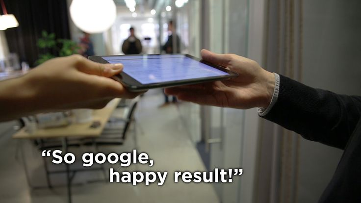 Go:group - So google, happy result!