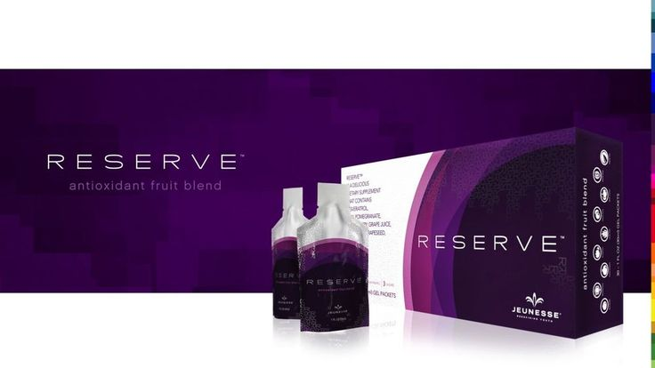 Made in USA 6 boxes Jeunesse Reserve botanical blend Antioxidant supplement Sale