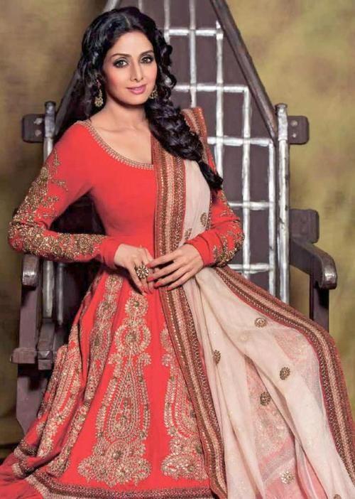 Beautiful: #Sridevi @SrideviBKapoor #Anarkali ~