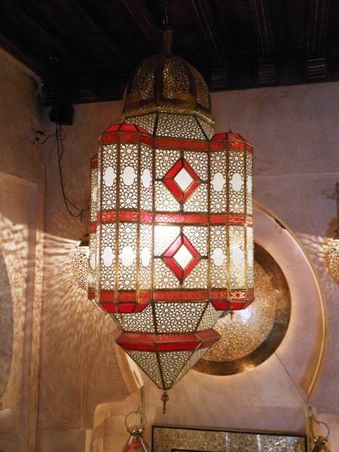 Décoration orientale : Lampes suspension, Lampe ambiance en verre ...