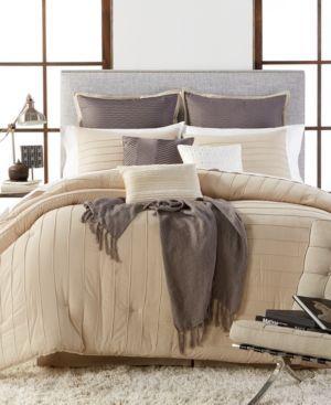 Riverdale 10-Piece California King Comforter Set - Tan/Beige