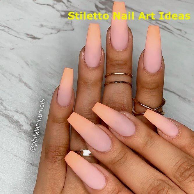 Über 30 trendige Optionen für Ombre-Nägel für … – Stylish Stiletto Nails
