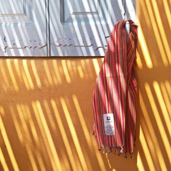 Rainbow Kitchen Towel by nodokana on Etsy #nodokana #peshkir #placemat #kitchentowel #teatowel #dishcloth