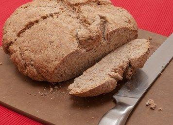 Wholemeal chia soda bread recipe | Easy bread recipes