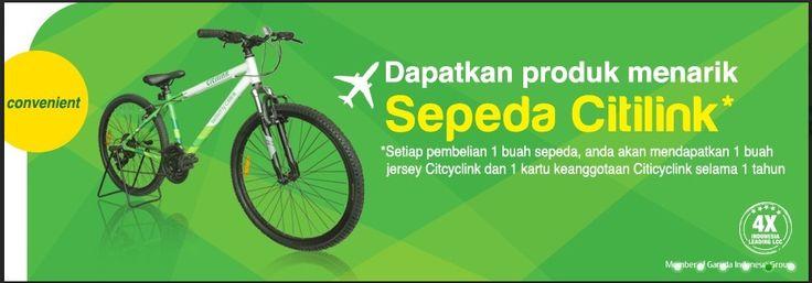 Beli Sepeda Citilink Gratis Jersey dan Kartu Keanggotaan