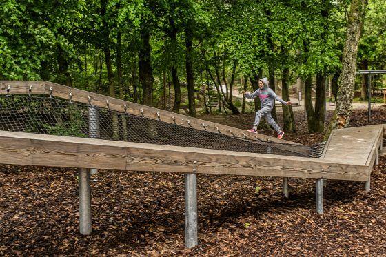 Wonder Wood à l'école Skørping à Rebild au Danemark