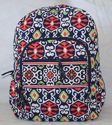 *VERA BRADLEY Campus Backpack in Sun Valley - NO31-2